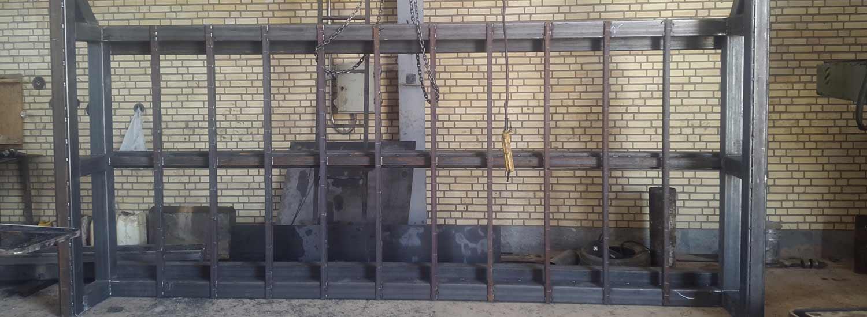 ساخت استراکچر فلزی